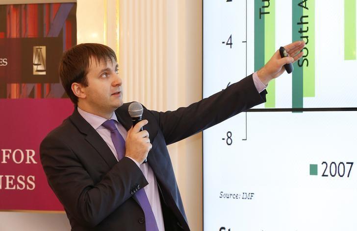 Image result for Economy Minister Maxim Oreshkin