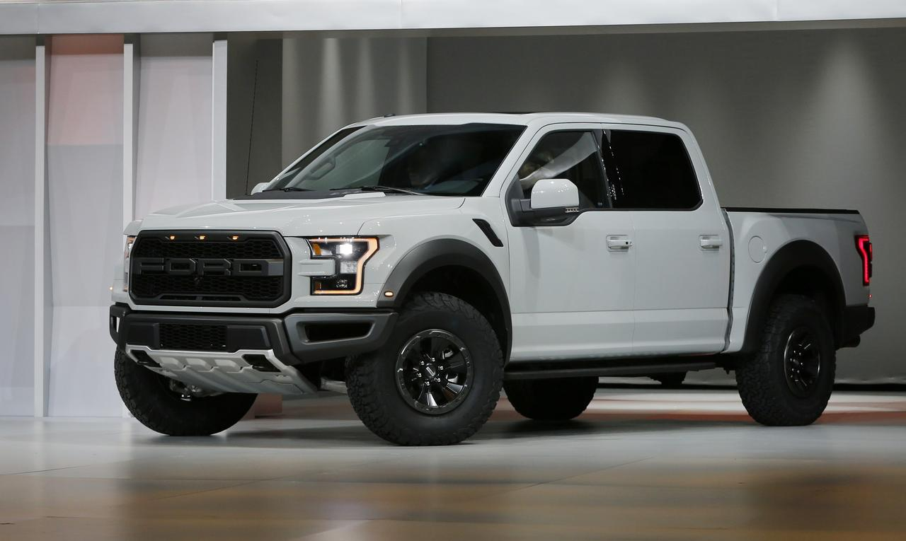 A 2017 Ford F 150 Raptor Pickup Truck Is Displayed At The North American International Auto Show In Detroit Michigan US On January 11 2016