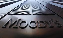 """Moody's a annoncé mercredi abaisser de stable à négative la perspective attachée à la note """"Baa2"""", qui reste inchangée, attribuée à la dette souveraine de l'Italie, évoquant la lenteur des réformes économiques et budgétaires du pays. /Photo d'archives/REUTERS/Mike Segar"""