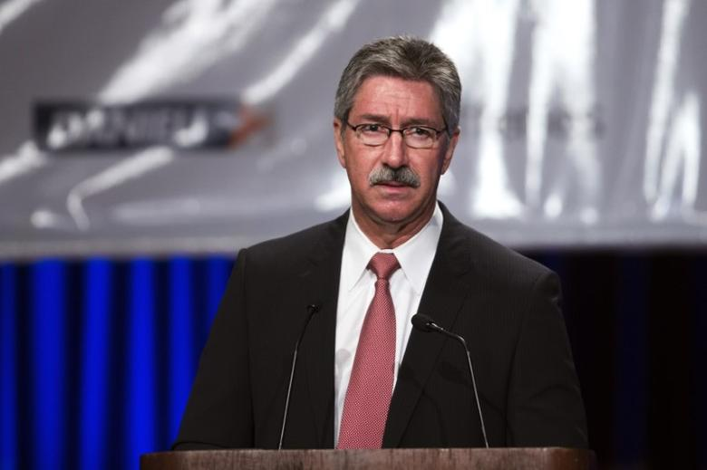 File photo of Mario Longhi speaking during the Steel Success Strategies conference in New York, June 18, 2013. REUTERS/Lucas Jackson