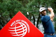 Golf - WGC-HSBC Champions Golf Tournament  - Shanghai, China- 28/10/16 Dustin Johnson of U.S. in action. REUTERS/Aly Song