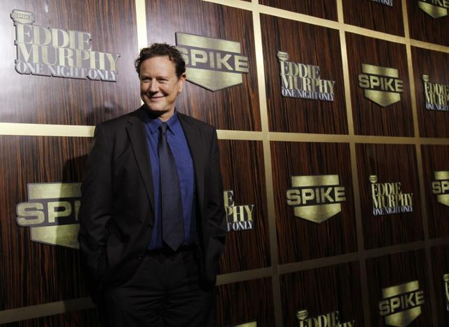 Actor Judge Reinhold poses as he arrives for the taping of the Spike TV special tribute ''Eddie Murphy: One Night Only'' at the Saban theatre in Beverly Hills, California November 3, 2012. REUTERS/Mario Anzuoni/Files