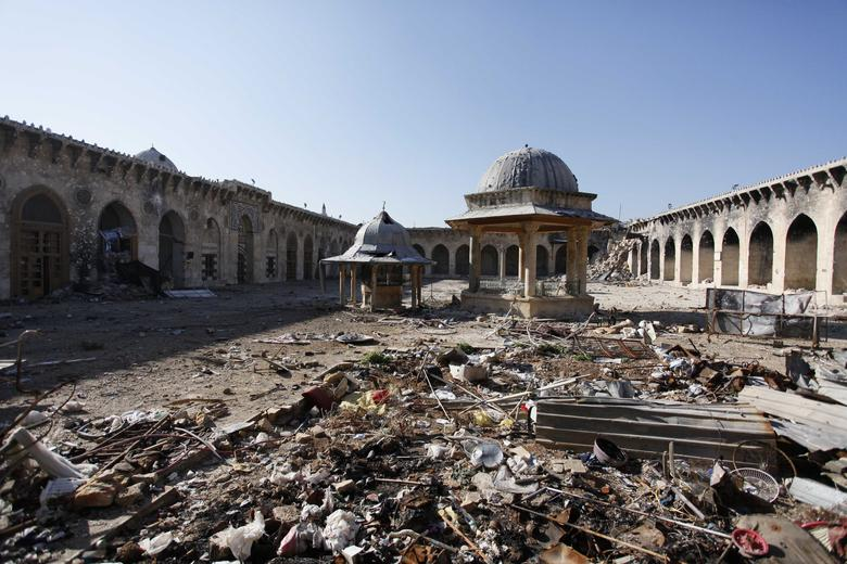 Aleppo then and now   Reuters com