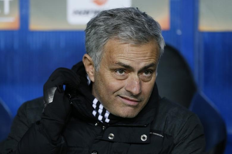 Soccer Football - FC Zorya Luhansk v Manchester United - UEFA Europa League Group Stage - Group A - Chornomorets Stadium, Odessa, Ukraine - 8/12/16 Manchester United manager Jose Mourinho before the match 	  Reuters / Valentyn Ogirenko Livepic