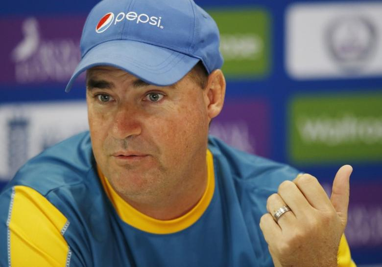 Britain Cricket - Pakistan Press Conference - Lords - 26/8/16 Pakistan's head coach Mickey Arthur during the press conference Action Images via Reuters / Paul Childs Livepic