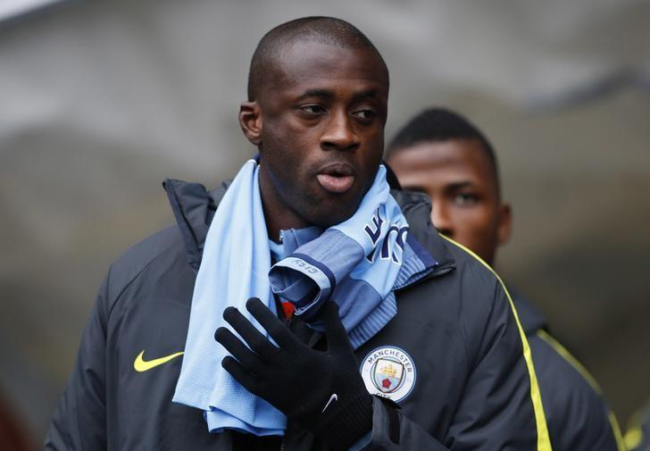 Britain Football Soccer - Manchester City v Chelsea - Premier League - Etihad Stadium - 3/12/16 Manchester City's Yaya Toure before the match  Reuters / Phil Noble/ Livepic/ Files