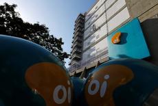 Logo da Oi visto em prédio da companhia no Rio de Janeiro.     22/06/2016           REUTERS/Sergio Moraes