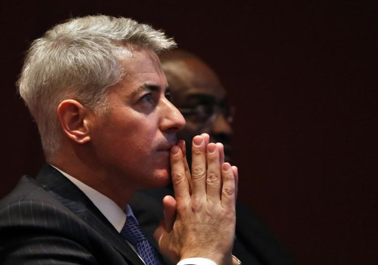 William Ackman, CEO and Portfolio Manager of Pershing Square Management, is pictured during the Harbor Investment Conference in New York, U.S. on in this  February 13, 2013 file photo. REUTERS/Shannon Stapleton/File Photo