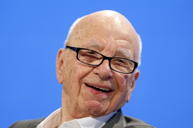 Rupert Murdoch, Executive Chairman News Corp and Chairman and CEO 21st Century Fox speaks at the WSJD Live conference in Laguna Beach, California October 29, 2014.  REUTERS/Lucy Nicholson/Files