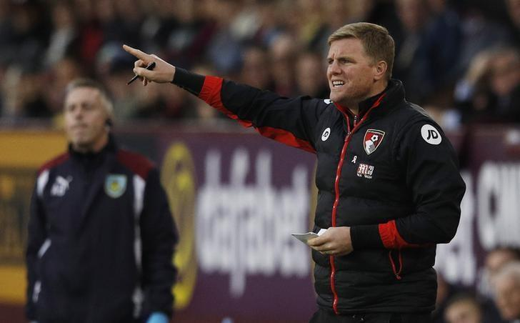 Burnley v AFC Bournemouth - Premier League - Turf Moor - 10/12/16 Bournemouth manager Eddie Howe  Reuters / Phil Noble/Livepic
