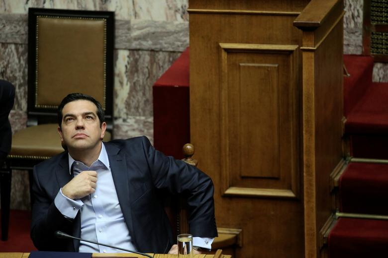 Greek Prime Minister Alexis Tsipras attends a parliamentary session before a budget vote in Athens, Greece, December 10, 2016. REUTERS/Alkis Konstantinidis