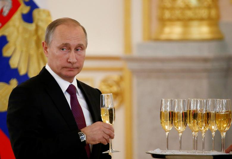 1: Russian President Vladimir Putin is the most powerful person in the world right now, according to the latest ranking from Forbes.REUTERS/Sergei Karpukhin