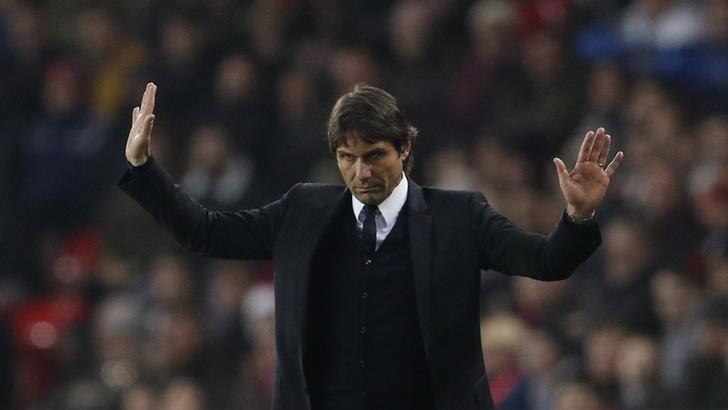 Britain Football Soccer - Sunderland v Chelsea - Premier League - The Stadium of Light - 14/12/16 Chelsea manager Antonio Conte Action Images via Reuters / Lee Smith Livepic