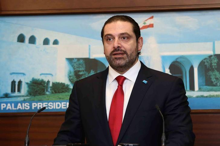 Lebanon's Prime minister-designate Saad al-Hariri speaks after announcing the new government at the presidential palace in Baabda, Lebanon December 18, 2016. Dalati Nohra/Handout via Reuters
