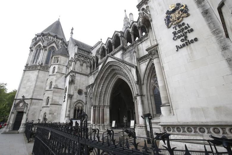 The Royal Courts of Justice are seen in London Britain May 19, 2016.  REUTERS/Peter Nicholls