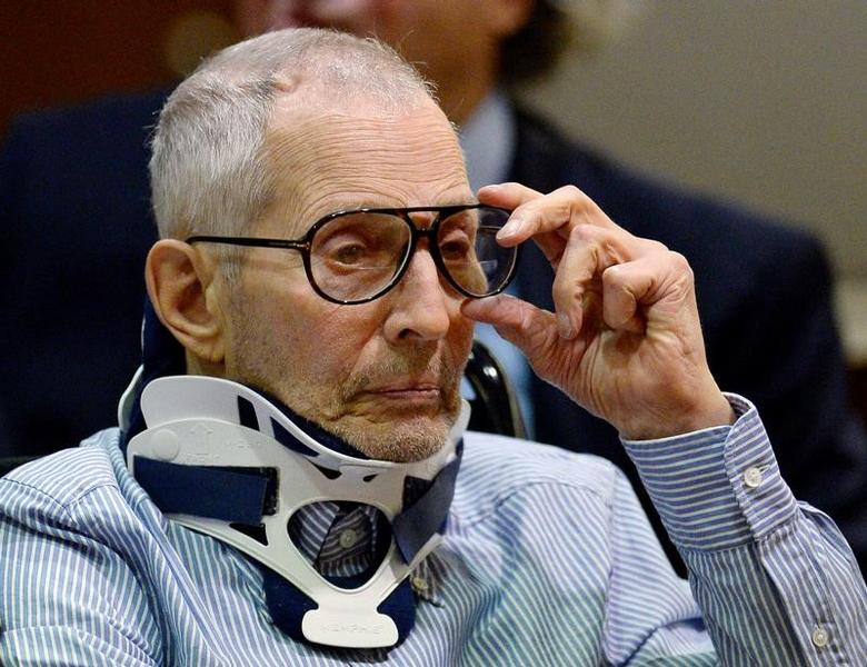 Robert Durst attends his arraignment on capital murder charges in the death of Susan Berman, in Los Angeles, California, U.S. November 7, 2016.  REUTERS/Kevork Djansezian