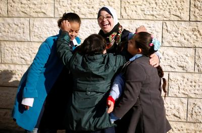 Gaza's first teacher with Down syndrome