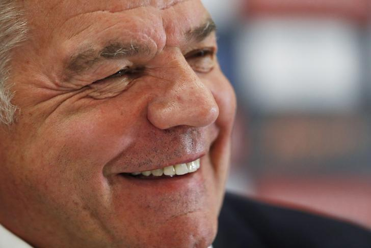 Britain Football Soccer - England - Sam Allardyce Press Conference - Hilton Hotel, St. George?s Park, Burton upon Trent, Staffordshire - 25/7/16England manager Sam Allardyce during the press conferenceAction Images via Reuters / Andrew CouldridgeLivepic/Files