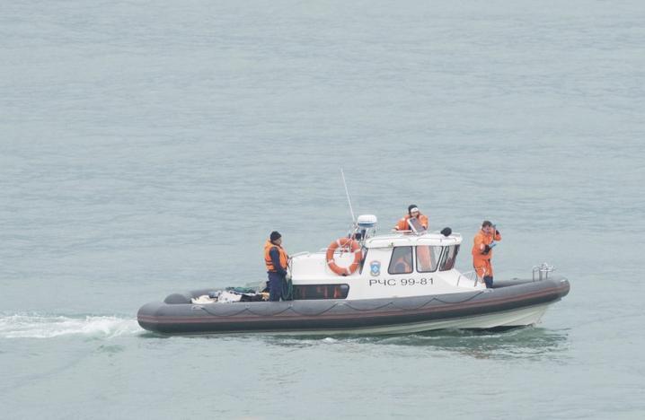 поиск ту-154 в черном море