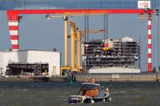 Seul un candidat au rachat des chantiers navals STX de Saint-Nazaire (Loire-Atlantique) a soumis une offre au tribunal de Corée du Sud chargé du dossier, a-t-on appris mardi auprès d'un porte-parole de cette juridiction. /Photo prise le 9 novembre 2016/REUTERS/Stéphane Mahé