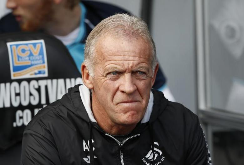 Britain Soccer Football - Swansea City v Liverpool - Premier League - Liberty Stadium - 16/17 - 1/10/16Swansea City first team coach Alan Curtis Reuters / Stefan Wermuth