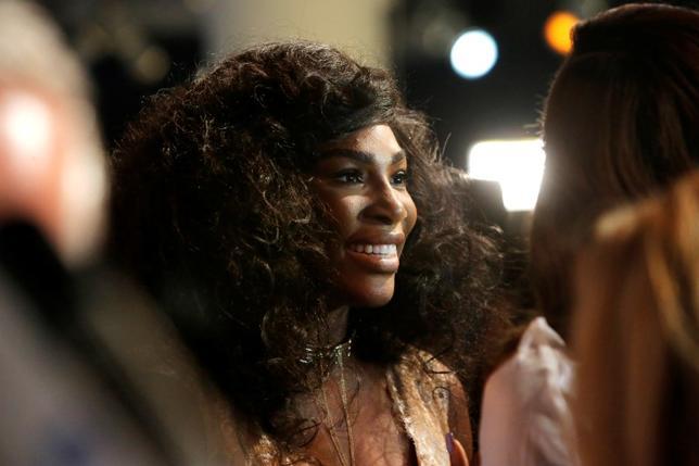 Tennis player Serena Williams in Manhattan, New York, U.S., September 12, 2016.  REUTERS/Andrew Kelly