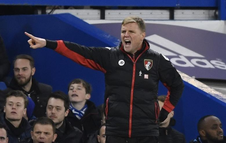 Britain Soccer Football - Chelsea v AFC Bournemouth - Premier League - Stamford Bridge - 26/12/16 Bournemouth manager Eddie Howe  Action Images via Reuters / Tony O'Brien Livepic