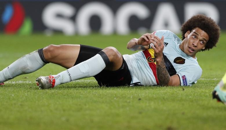 Football Soccer - Wales v Belgium - EURO 2016 - Quarter Final - Stade Pierre-Mauroy, Lille, France - 1/7/16 Belgium's Axel Witsel REUTERS/John Sibley