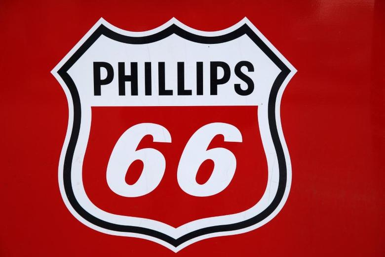 A Phillips 66 sign is seen at a gas station in the Chicago suburb of Wheeling, Illinois, U.S., October 27, 2016. REUTERS/Jim Young - RTX2QS4C
