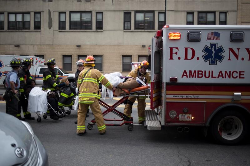 New York train crash injures more than 100 commuters - Reuters