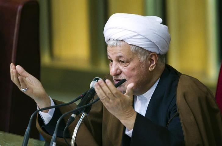 EDITORS' NOTE: Reuters and other foreign media are subject to Iranian restrictions on leaving the office to report, film or take pictures in Tehran.Former Iranian president Akbar Hashemi Rafsanjani gives the opening speech during Iran's Assembly of Experts' biannual meeting in Tehran March 8, 2011. REUTERS/Raheb Homavandi/Files