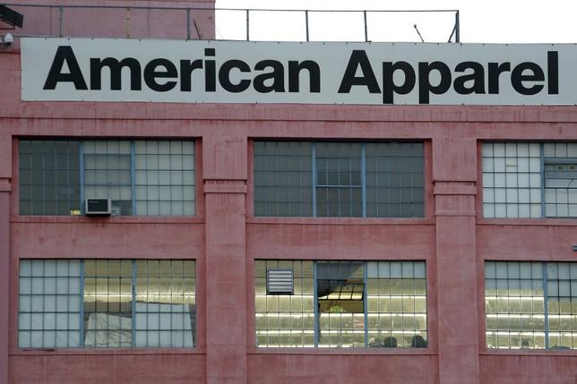 The American Apparel factory headquarters is pictured in Los Angeles, California July 7, 2014. REUTERS/Jonathan Alcorn