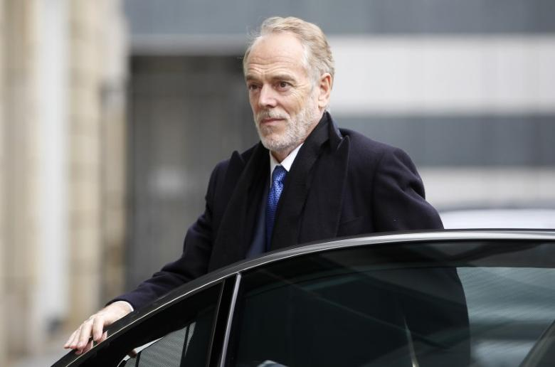 Head of Research and member of the Group Executive Committee of Deutsche Bank AG David Folkerts-Landau arrives for the Frankfurt Finance Summit in Frankfurt March 19, 2013. REUTERS/Lisi Niesner