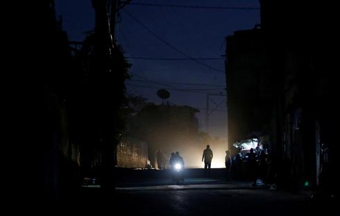 Lights out in Gaza