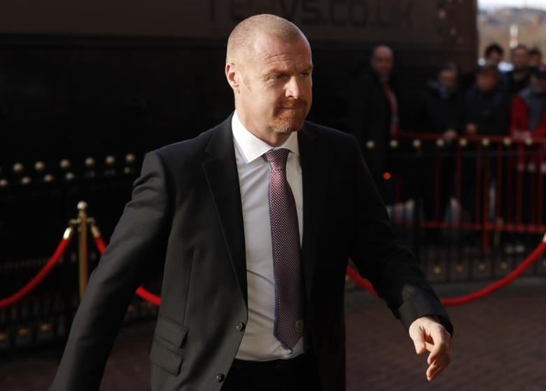 Britain Football Soccer - Sunderland v Burnley - FA Cup Third Round - The Stadium of Light - 7/1/17 Burnley manager Seans Dyche arrives before the match Reuters / Russell Cheyne Livepic/Files