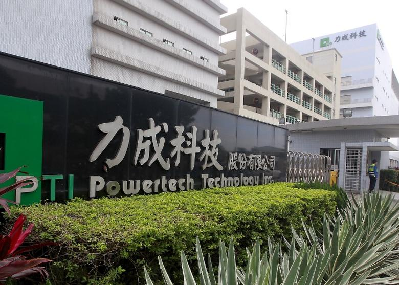 The headquarters of Powertech Technology Inc. is seen in Hsinchu county, northern Taiwan, December 23, 2015. REUTERS/Pichi Chuang
