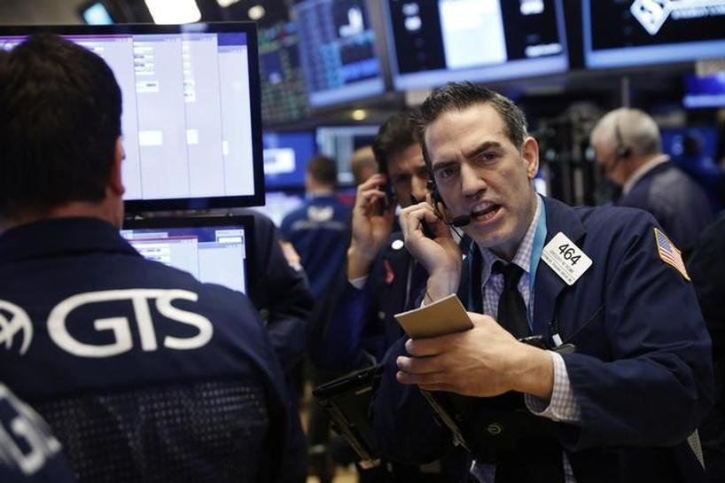 Europe shares up, Nasdaq hits record high; U.S. yields up