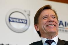 Le directeur général de Volvo Cars, Hakan Samuelsson, juge possible une introduction en Bourse du constructeur automobile suédois, rapporte vendredi le magazine allemand Manager Magazin. /Photo d'archives/REUTERS/Kim Kyung-Hoon