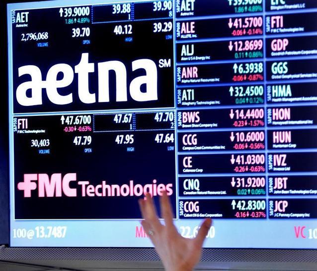 U S  blocks health insurer Aetna's $34 billion Humana