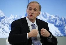 Ray Dalio, Founder, Co-Chief Executive Officer and Co-Chief Investment Officer, Bridgewater Associates attends the annual meeting of the World Economic Forum (WEF) in Davos, Switzerland, January 18, 2017. REUTERS/Ruben Sprich