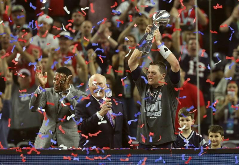 Pats' Brady named Super Bowl MVP after record comeback
