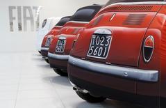 Fiat Chrysler réaffirme que ses véhicules diesel respectent totalement les règles en matière d'émissions polluantes, a déclaré mardi un porte-parole du groupe au lendemain de l'annonce de l'ouverture d'une procédure judiciaire en France. /Photo d'archives/REUTERS/Alessandro Bianchi