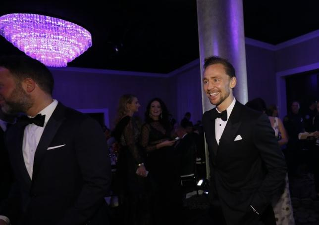 Actor Tom Hiddleston arrives at a pre-show cocktail party at the 74th Annual Golden Globe Awards in Beverly Hills, California, U.S., January 8, 2017. REUTERS/Mario Anzuoni