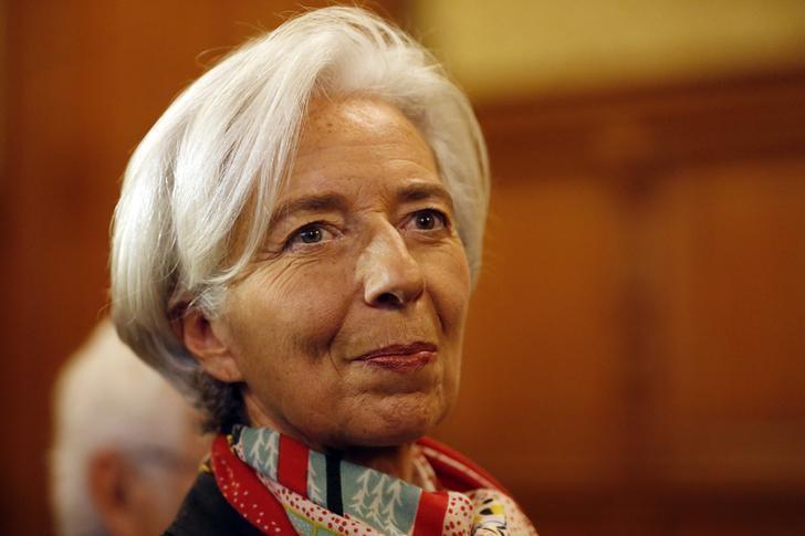 Managing Director of the International Monetary Fund (IMF) Christine Lagarde   in Paris, France, December 12, 2016.   REUTERS/Charles Platiau