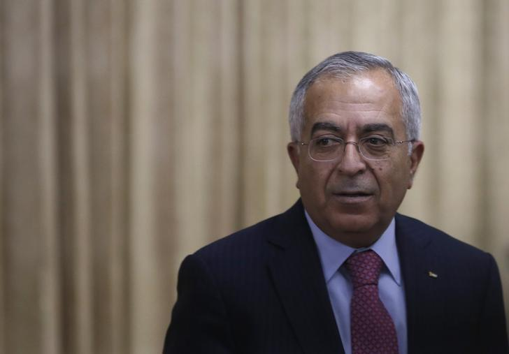 Former Palestinian Prime Minister Salam Fayyad attends an opening reception of Conference on Cooperation among East Asian Countries for Palestinian Delevopment (CEAPAD) in Tokyo February 13, 2013. REUTERS/Issei Kato
