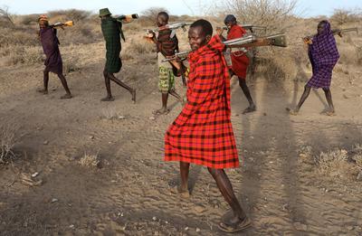 Drought stokes rivalry between Kenyan cattle herders