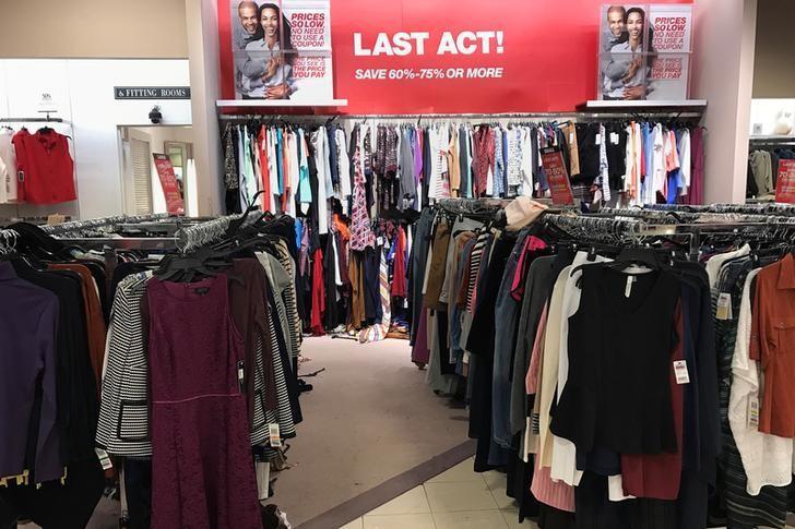 An advertisement is seen inside a Macy's department store in Douglaston, New York, U.S. January 5, 2017. REUTERS/Shannon Stapleton/Files