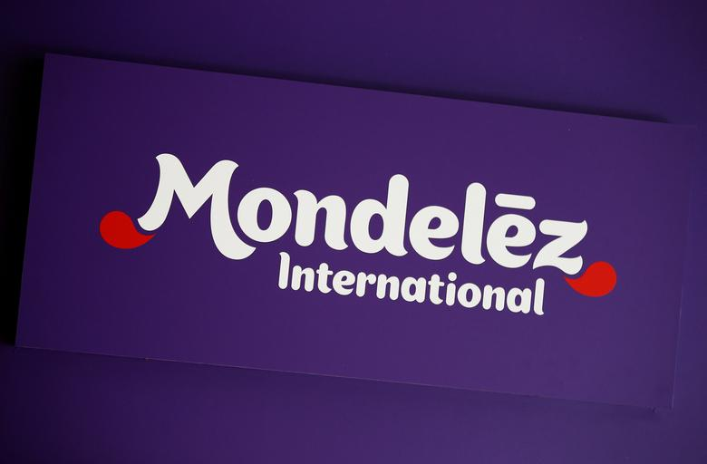 FILE PHOTO -  The logo of Mondelez International is pictured at the company's building in Zurich November 14, 2012.  REUTERS/Michael Buholzer/File Photo