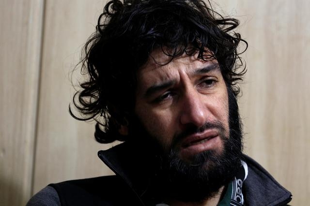 Ghaffar Abdel Rahman, 33, an Islamic State member speaks during his meeting with Reuters journalists in Sulaimaniya, Iraq February 15, 2017. REUTERS/Zohra Bensemra