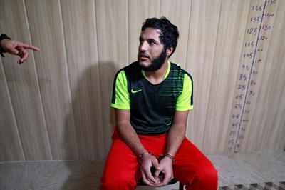 Islamic State militants behind bars